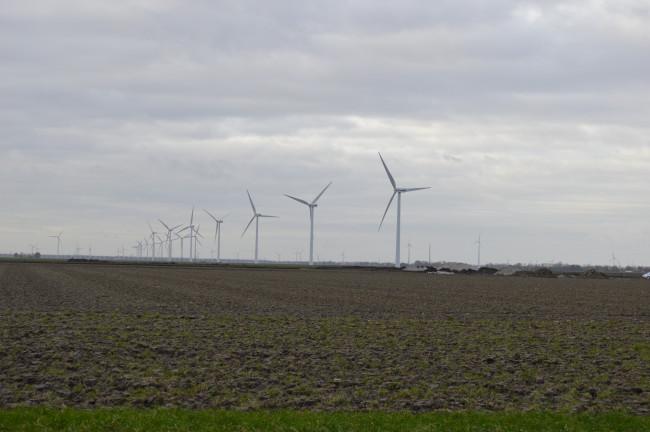 Kampen wil geen windmolens ten zuiden van grens