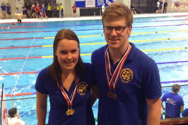 Van der Heide en Andeweg scoren op NK zwemmen voor masters