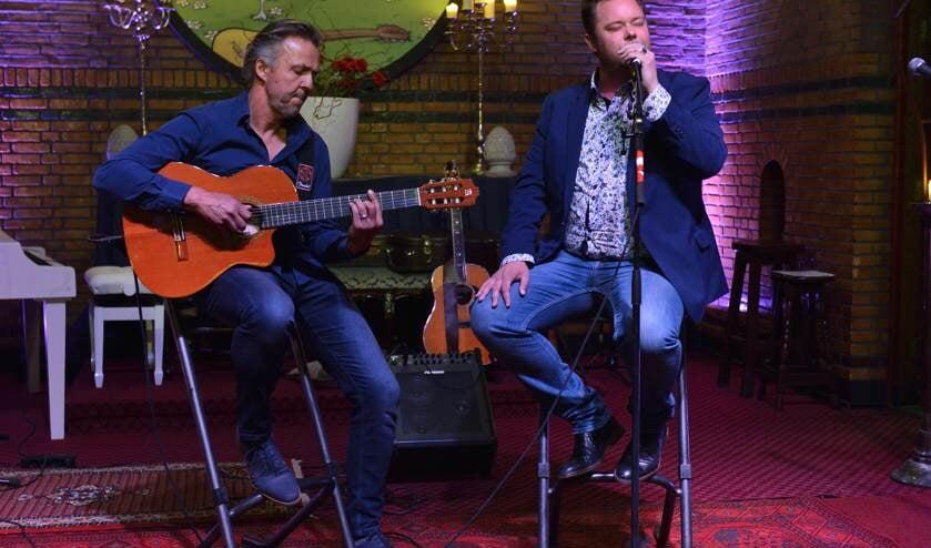 Erik Knottnerus en Benjo Plandsoen.    | Fotonummer: e8092e