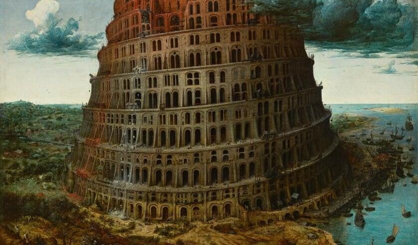 Afbeelding van het beroemde schilderij van Pieter Bruegel   | Fotonummer: 492cc9