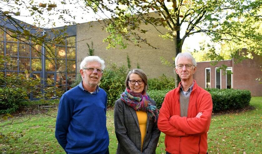 V.l.n.r.: Jan Haan, Petra Zweers en Johan Zwart   | Fotonummer: 21f03d