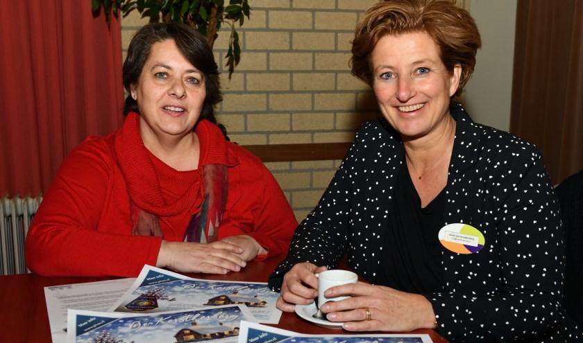 Liesbeth Roijen (l) en Karen van Woudenberg (r)   | Fotonummer: 6221e4