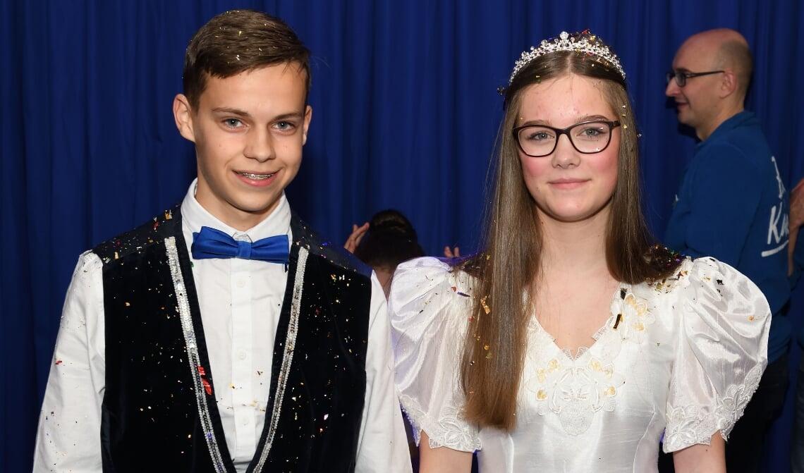 <p>Jeugdprins Stan en jeugdprinses Sanne worden dit jaar niet opgevolgd</p>