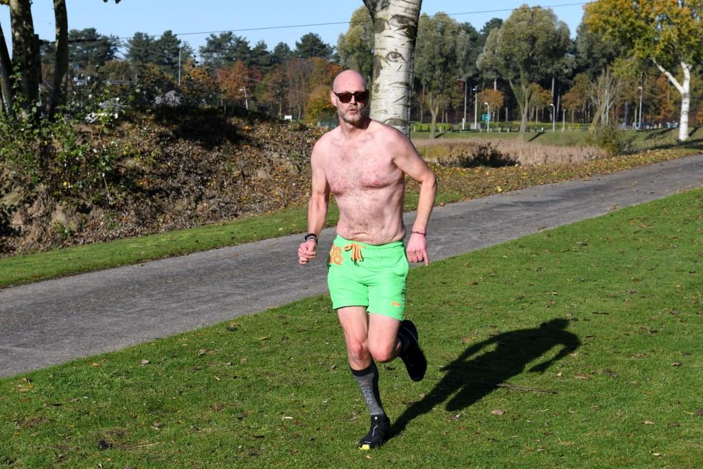 Ivo aan het hardlopen Foto: Wil Feijen © DeMooiSonenBreugelKrant