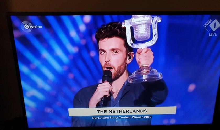 TV opname Eurovisie Songfestival 2019 Duncan Laurence   | Fotonummer: 8beae5