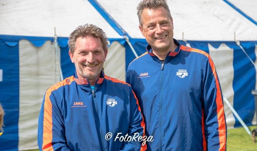 De nieuwe trainers bij HV Apollo Wim Pluym en Frank Kolen   | Fotonummer: c6550f