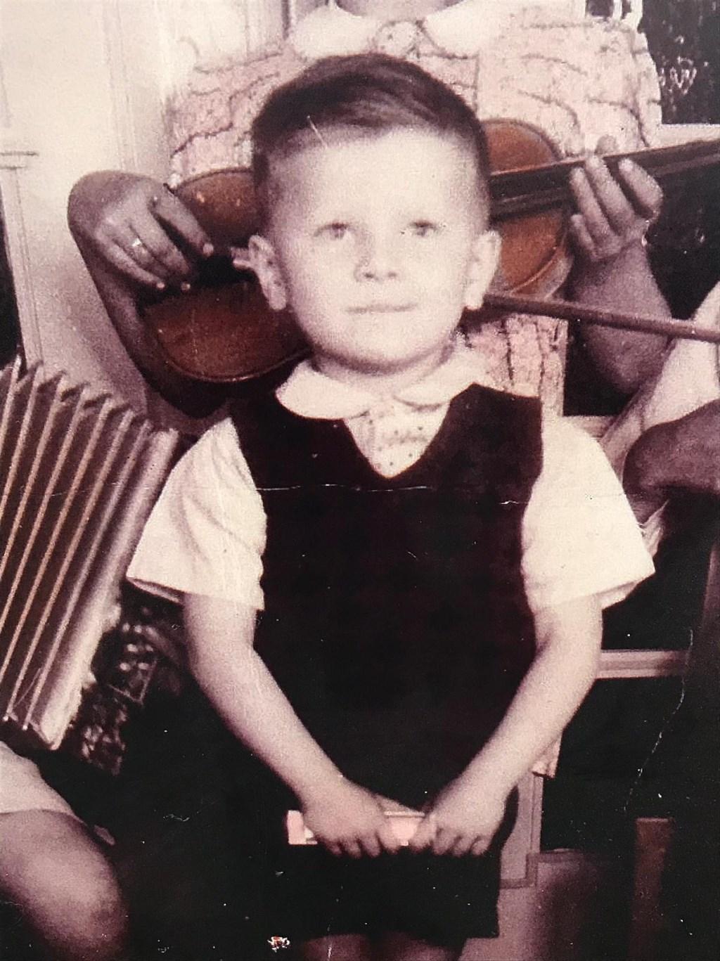 Wan van Overveld als kind Foto: Ingezonden © DeMooiSonenBreugelKrant