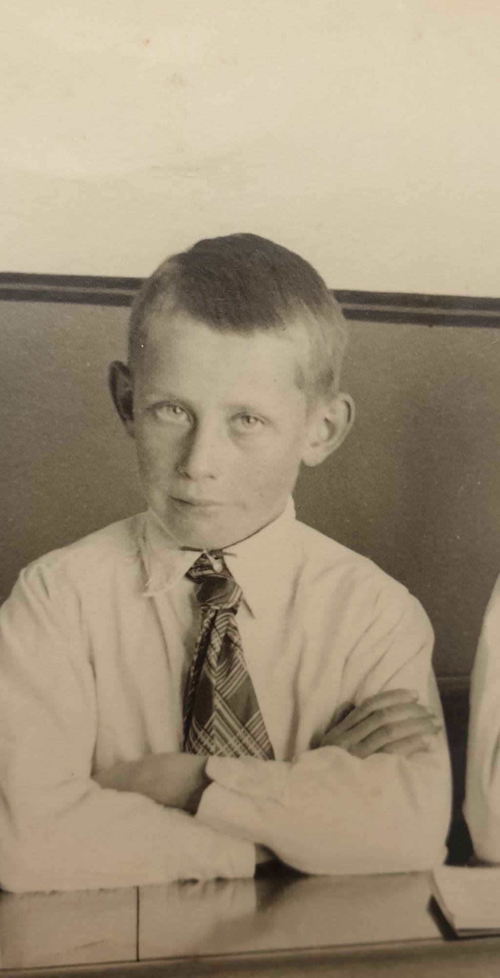 Gerrit van Eck als kind Foto: Ingezonden © DeMooiSonenBreugelKrant