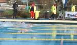 Podiumplaatsen voor Roel Janssen bij ijszwemmen