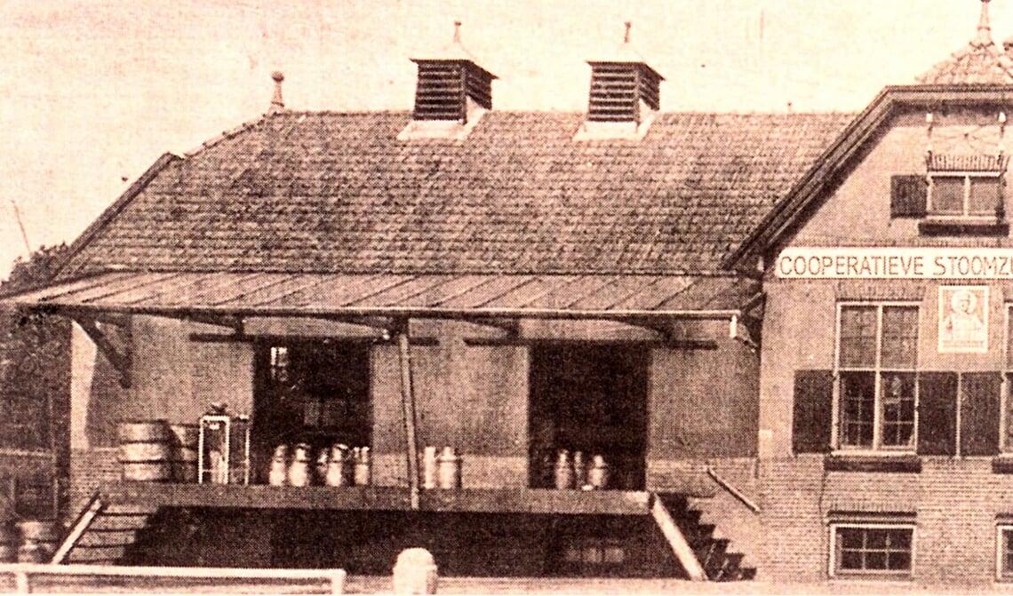 De stoomzuivelfabriek in de Kanaalstraat te Son (1932, foto: 20192