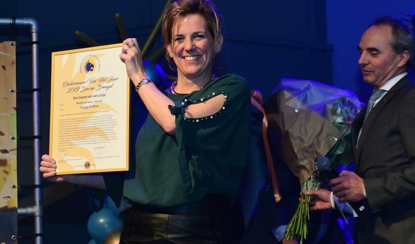 Michèle van Rooy Ondernemer van het Jaar 2019 Son en Breugel   | Fotonummer: 9982b8