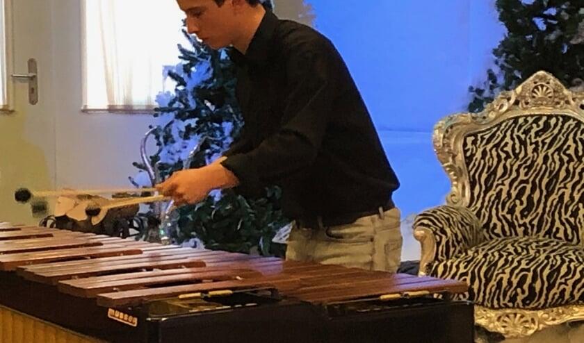 Bram Helvoirt op marimba   | Fotonummer: 747a49