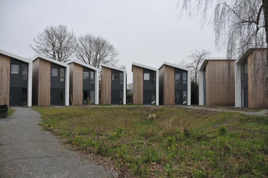 Een voorbeeld van de tiny houses in Aarle Rixtel Foto: MooiSonenBreugel © DeMooiSonenBreugelKrant