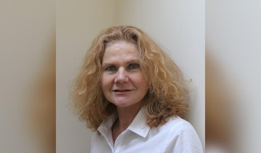 Fractievoorzitter Marleen Persoon van Voorschoten Lokaal. Foto: pr