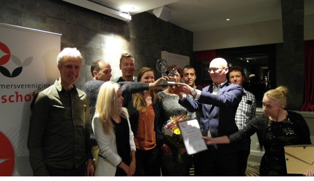 De winnaars, de ondernemers Beethovenlaan Winkellaan  © VSK