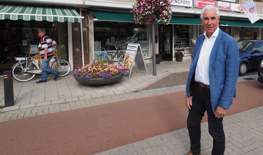 Hans van den Boogaardt, 40 jaar aan de Schoolstraat 184. Foto: pr