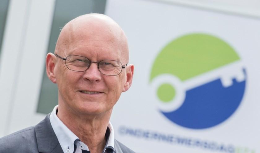 Frank ten Have (voorzitter ondernemersvereniging): Gemeentelijke daadkracht is nodig om Voorschoten leefbaar en betaalbaar te houden. Foto: OVV