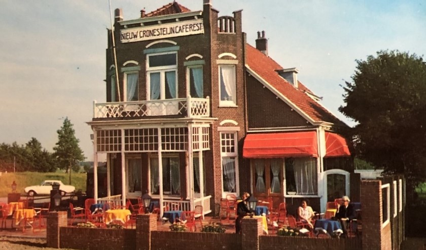 Cronesteyn in de jaren 60 maar de brasserie bestaat al 100 jaar, waarvan 83 jaar in eigendom van de familie Overdevest. Foto: pr