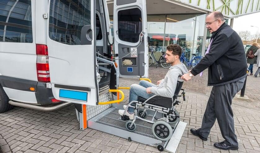 Reizen met de regiotaxi. Foto: Gemeente Voorschoten