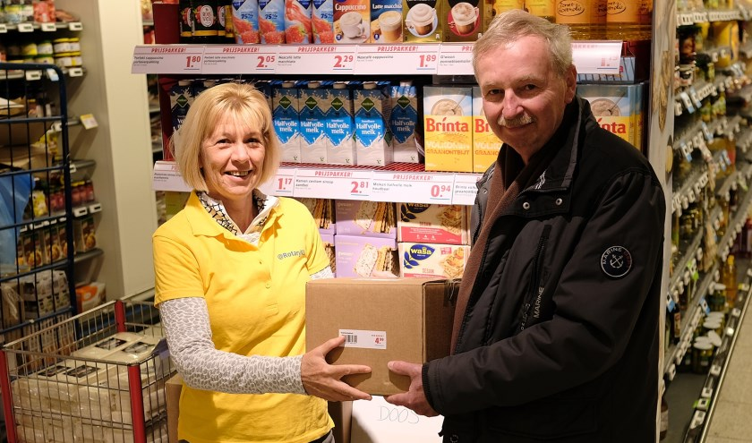 Meer dan 200 klanten doneerden een Gulle Doos. Foto: Paul van Wezenberg