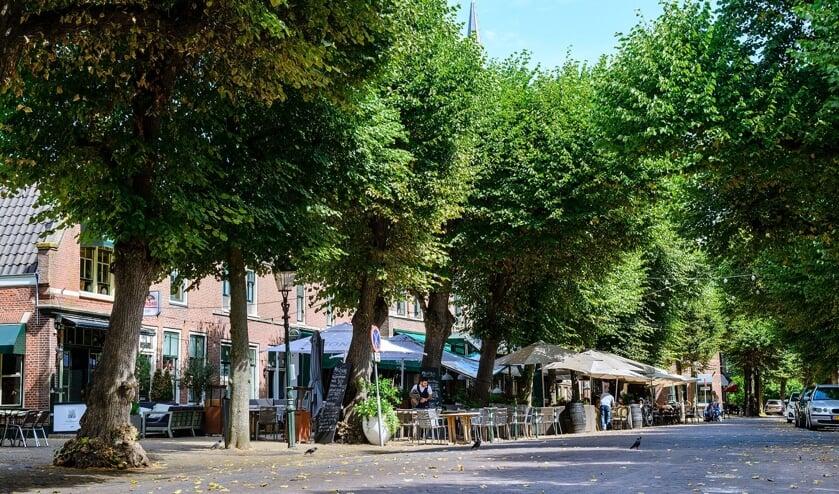 Voorschoten heeft maatregelen genomen om de balans tussen wonen en horeca in de Voorstraat te herstellen. Foto: Gemeente Voorschoten