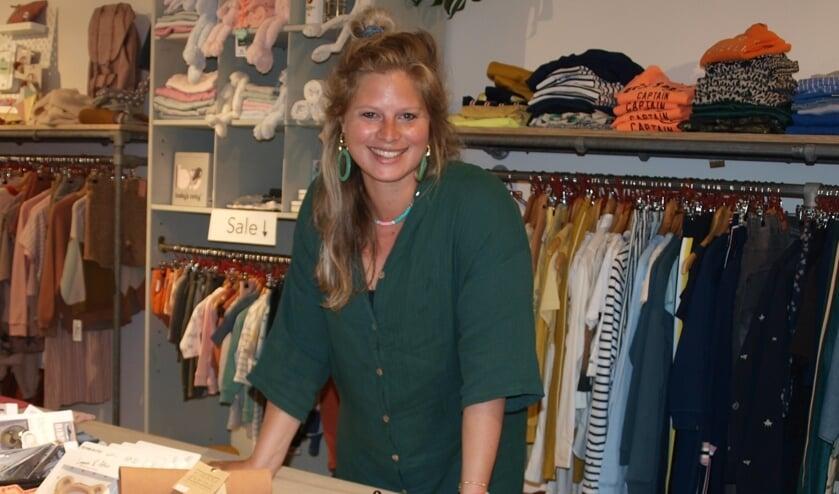De ondernemende Lisa Mulder-Van Kampen gaf Tokkelientje een nieuwe uitstraling en breidde ook de collectie uit. Foto: Vsk
