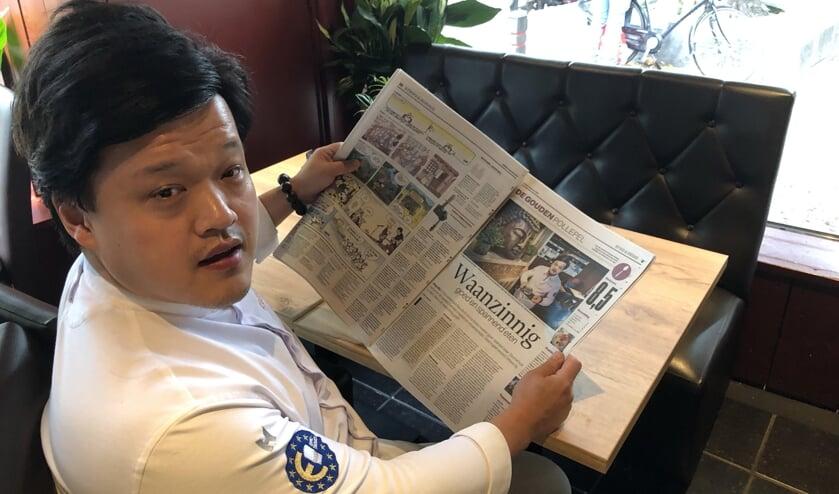 Kelvin Lin maakt met Nayolie kans op de Gouden Pollepel. Foto: Vsk