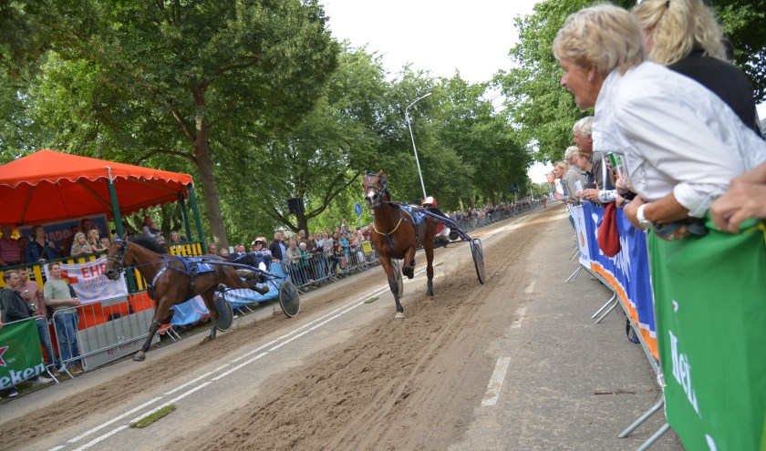 De kortebaandraverij komende zaterdag 17 augustus gaat door. Foto: kortebaandraverijen.nl