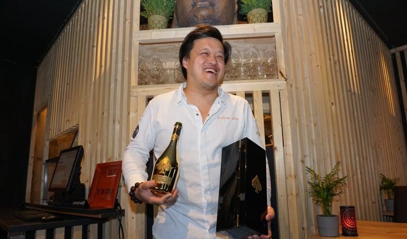 Kelvin Lin is al heel wat lof toegezongen maar toch verrast door het winnen van de Gouden Pollepel in de regio