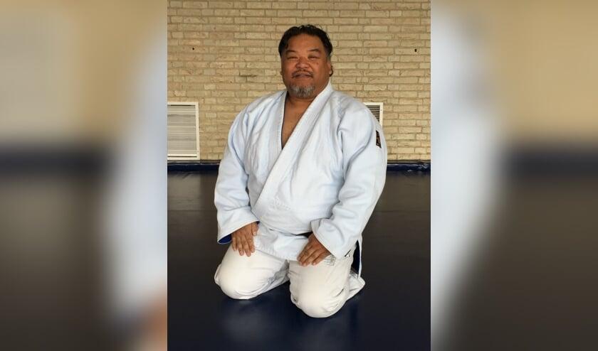 Percy Rüben, begon op zijn vierde jaar met judo en is nu het boegbeeld van de oosterse gevechtsporten in Voorschoten. Foto: Hans Douw