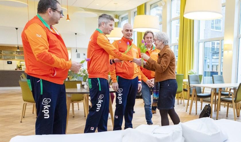 Stichting Roparun schonk Florence zes koppelbedden. Foto: Studio Oostrum