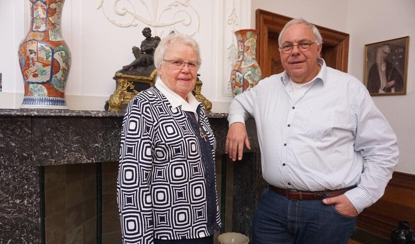 Welke ideeën hebben inwoners van Voorschoten voor Het Klooster en haar omgeving. Dat horen Zuster Regina en Peter Meijs graag op 14 januari. Foto: VSK