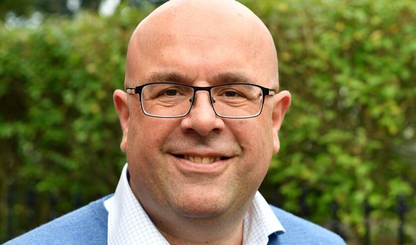 CDA-raadslid Mark van Oostrom. Foto: CDA Voorschoten