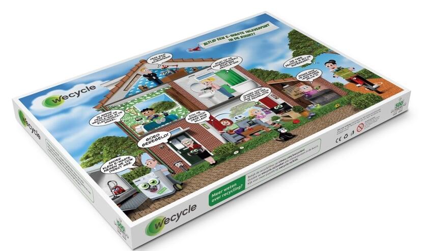 <p>Snelle inleveraars van afgedankte apparaten en lampen (e-waste) ontvangen bij de gemeentelijke milieustraat een gratis Wecycle Recycle puzzel </p>
