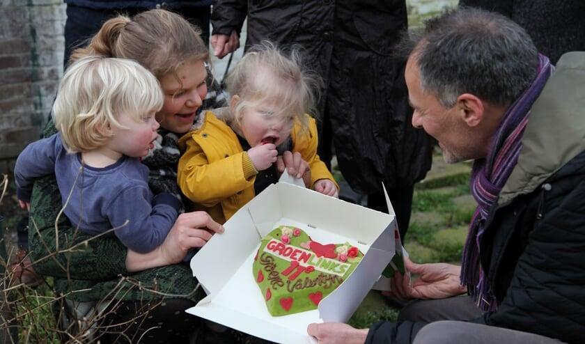 De GroenLinks Groene Valentijn is dit jaar voor Joske Slijkhuis van de Ontdektuin. Foto: GroenLinks