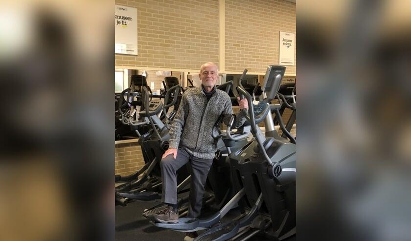 Drie jaar eerder dan de bedoeling was komt er een eind aan Goederaad Fitness van  Ben van der Hoff. Foto : Vsk