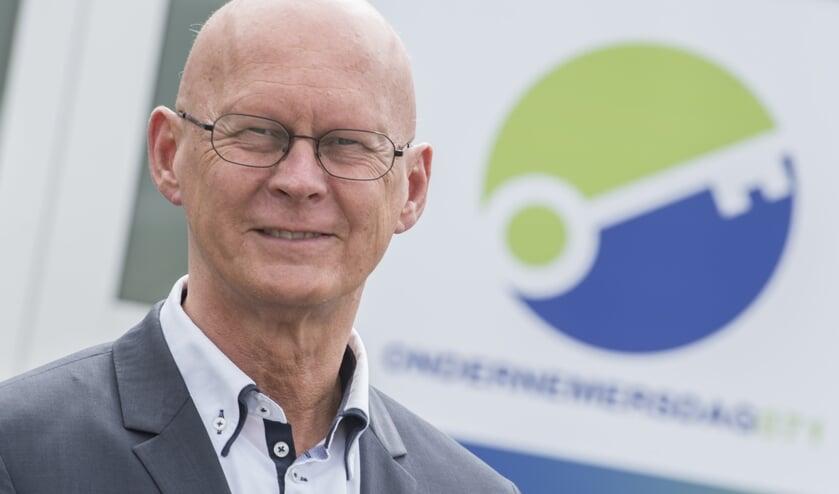 Frank ten Have, voorzitter Ondernemersvereniging Voorschoten. Foto: John Brussel