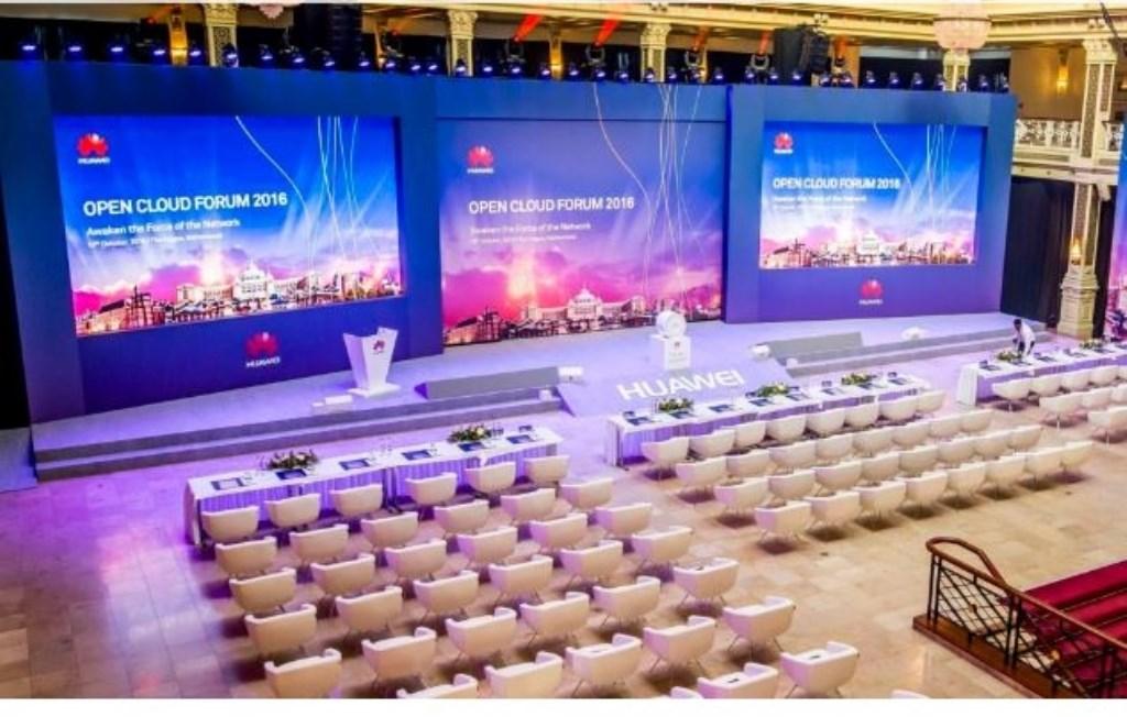 In het Kurhaus in Scheveningen vond het   Huawei Open Cloud Forum plaats. Foto:  © VSK