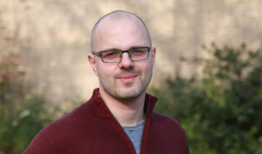 GroenLinks Fractievoorzitter Albert Deuzeman.
