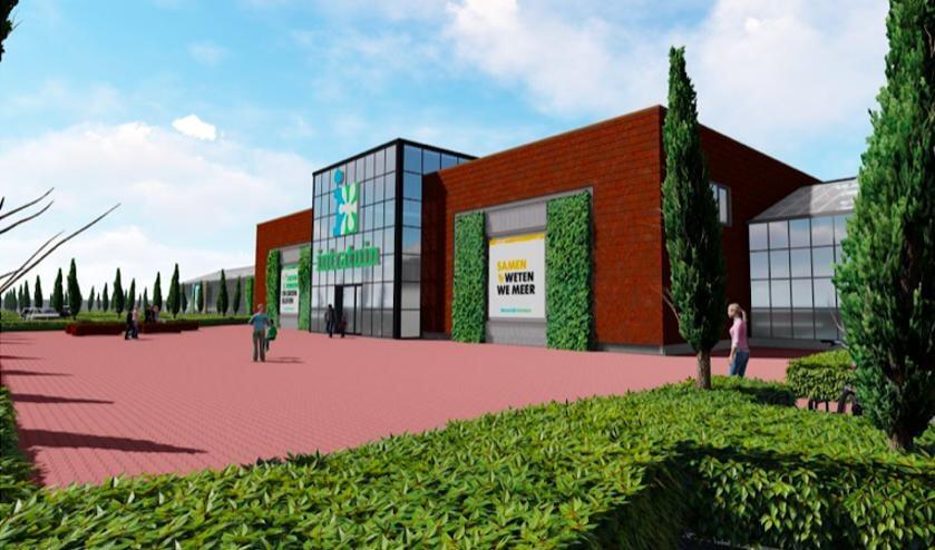 Het is nog maar zeer de vraag of de nieuwe Intratuin in Valkenburg gerealiseerd kan worden. Foto: Intratuin