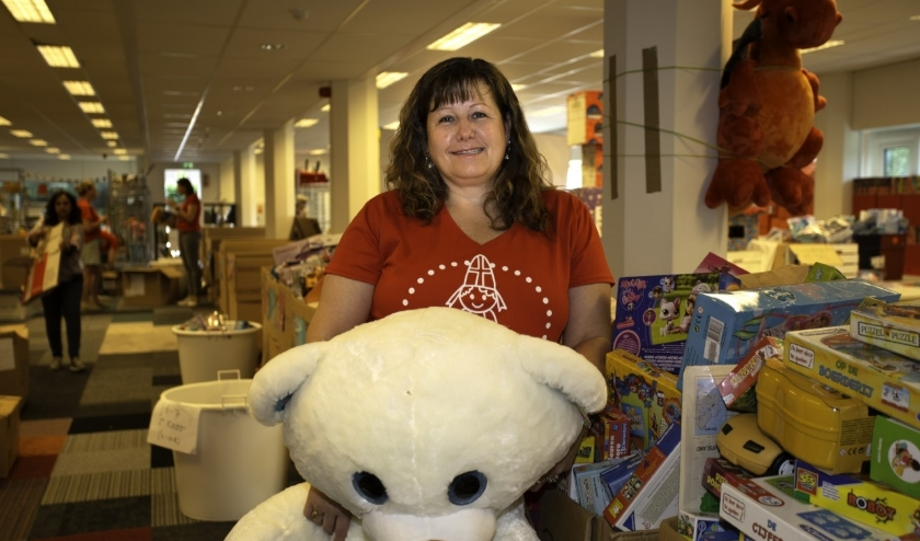 Sandra de Jong van Sintervoorieder1 is op zoek naar hulp. Wie doet er mee? Foto: Brigitte Rijnaars-Kluppel