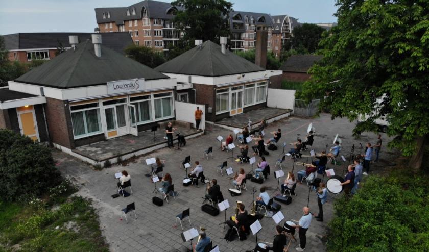 Muziekvereniging Laurentius kan weer repeteren. Foto: PR
