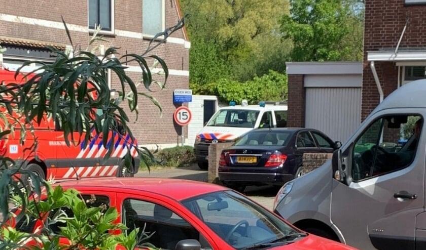 Het voormalige drugslab aan de Leidseweg is voor 6 maanden gesloten. Foto: Archief