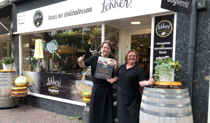 <p>Marco Vos en Anja van Veen zijn trots op hun certificering, voor de klanten is er op 25 en 26 juni een verrassing! Foto: Vsk</p>
