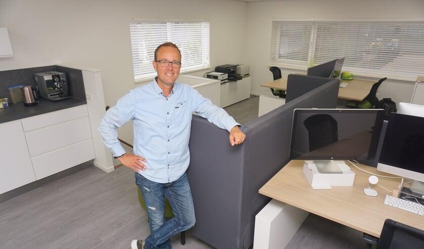 <p>Het duurzame kantoor van Grapefish aan de Industrieweg 52 in de Dobbewijk van Voorschoten kan meteen en volledig ingericht betrokken worden. &nbsp;Foto: PR</p>
