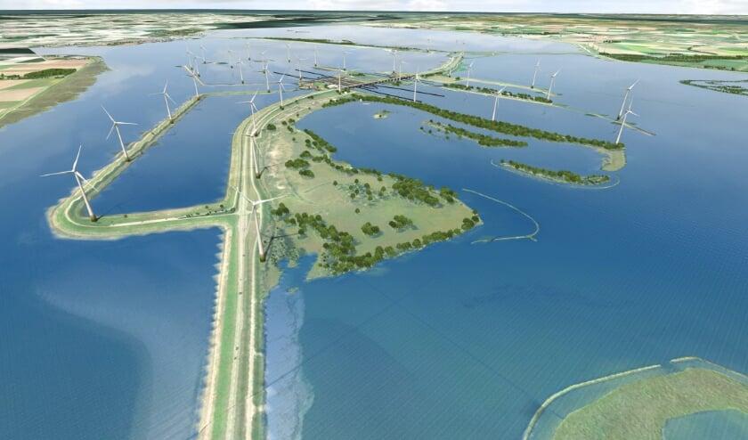 <p>Bouw windpark Krammer start najaar</p>