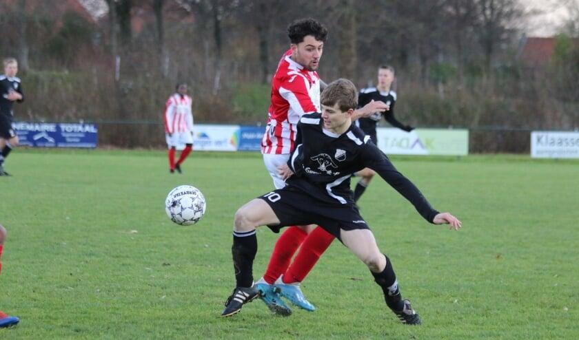 <p>Martijn Dalebout, tegen Vlissingen, weer succesvol namens Brouwershaven</p>