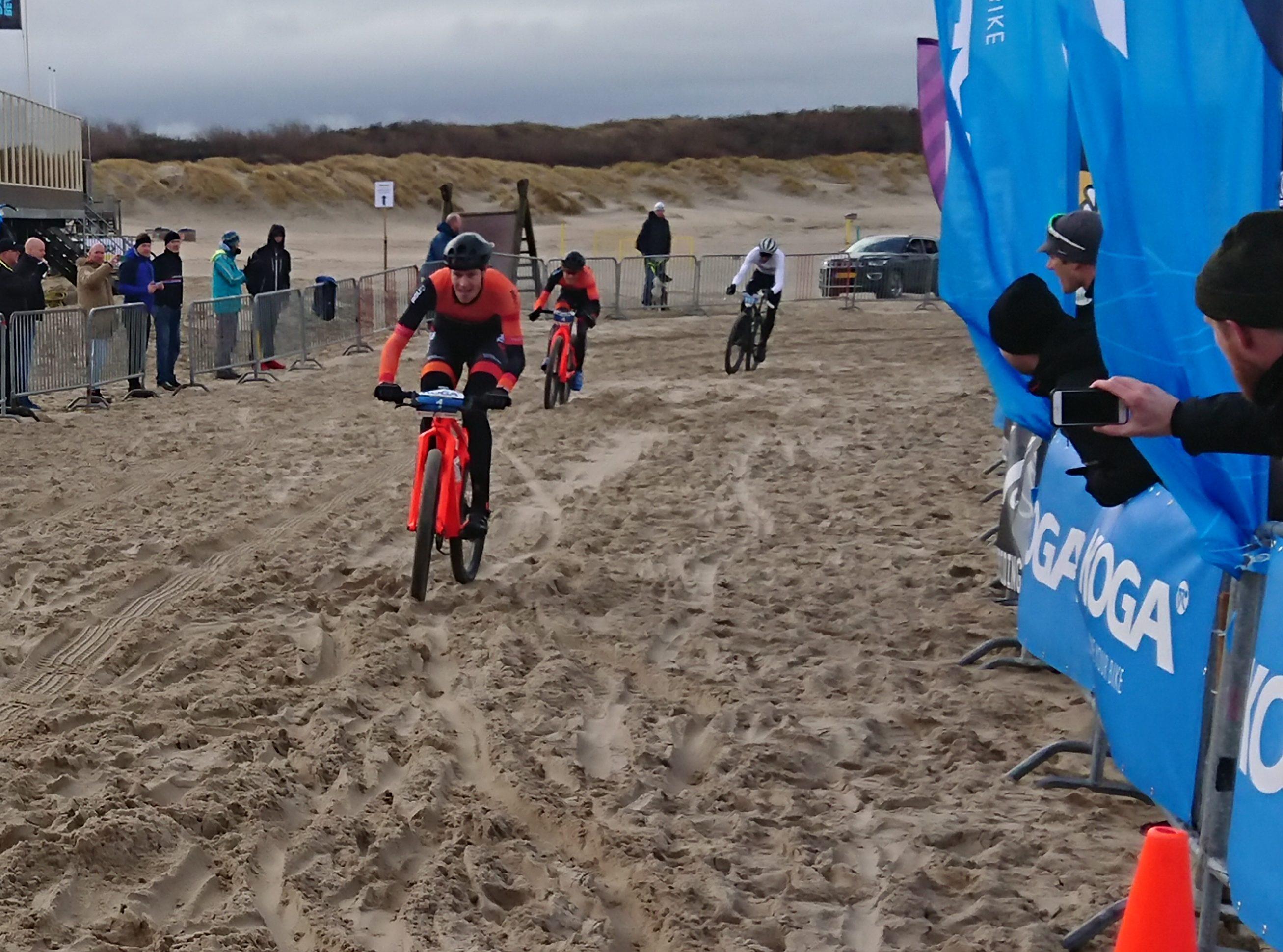 Schouwse dammen in 2020 toneel van NK MTB Beachrace