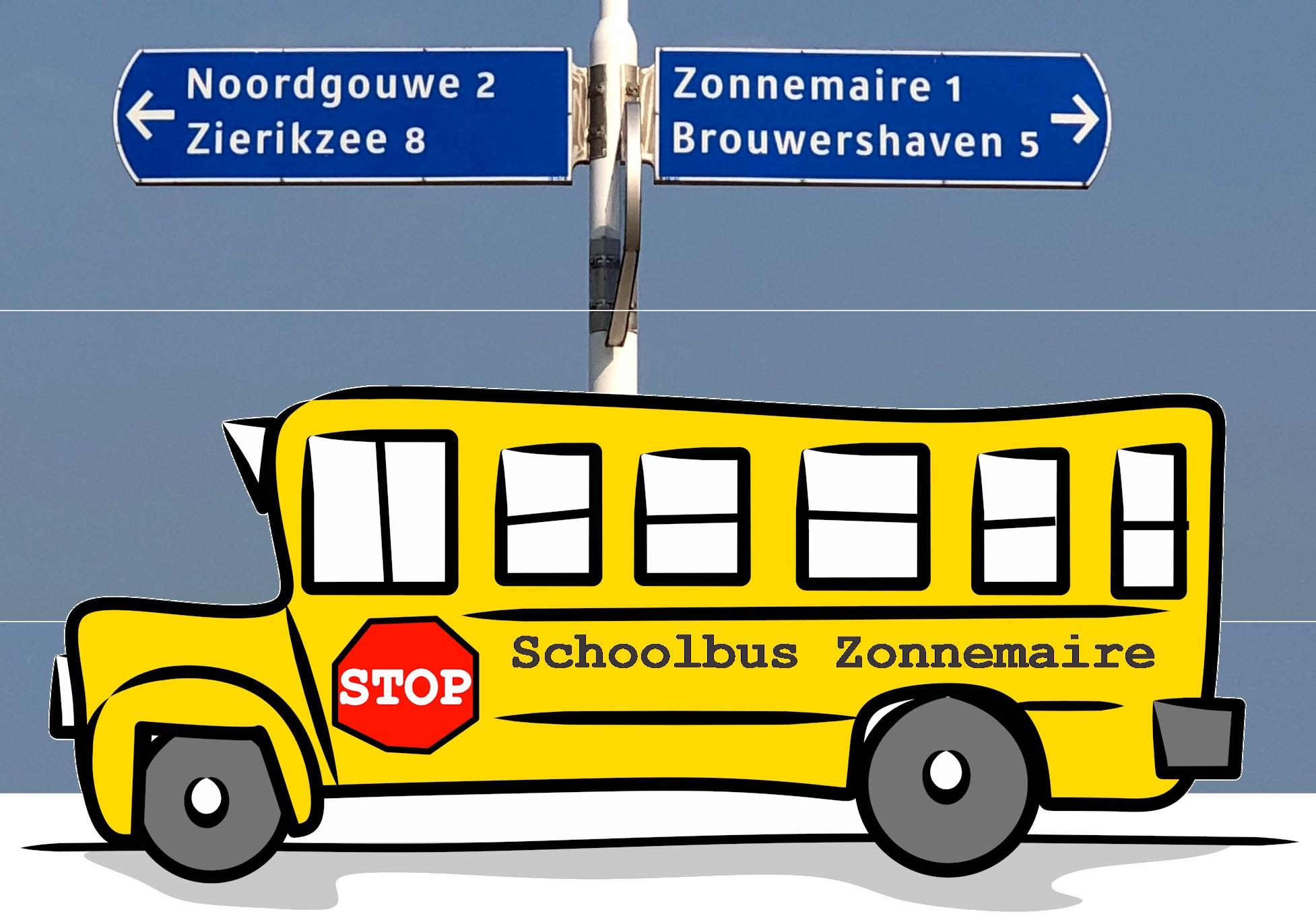 Twintig mille Oranje Fonds voor schoolbus