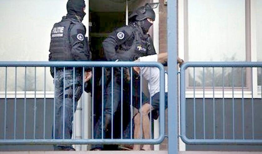 De verdachten werden opgepakt door het EVA-team (archieffoto: politie).